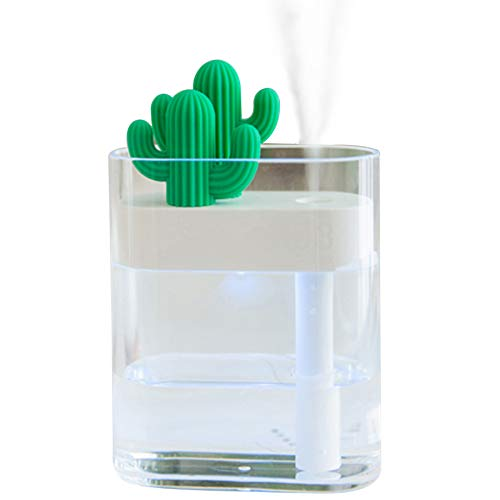 warrita Premium Cactus Humidifier Unit with 160ml Water Tank Cool