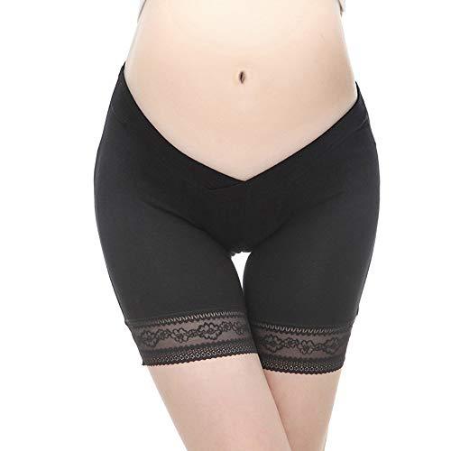 Adelina Leggings voor zwangere vrouwen, voor dames, effen kleuren, moederschap, korte broek, stretch, modieus, vrijetijdslegging, boxershort