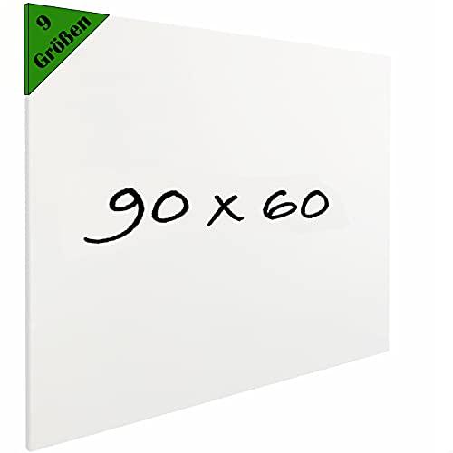 Vivol Eco Magnetic Whiteboard 90x60 | Rahmenlos Design | Magnettafel Whiteboardwand Magnetwand | ohne Rahmen | 5 Größen | Hoch- und Querformat