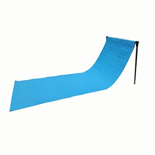 Vlook 2 Stück Strandkorb, verstellbare Parkstühle, mit Rückenlehne und Aufbewahrungstasche, kompaktes, tragbares, leichtes und einfaches Einrichten, für Picknick und Camping