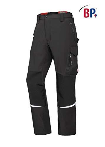 BP 1984-620-57-50n Super-Stretch-Hose für Männer Schlanke Silhouette mit elastischem Rückenteil 250,00 g/m² Stoffmischung mit Stretch, Dunkelgrau 34n