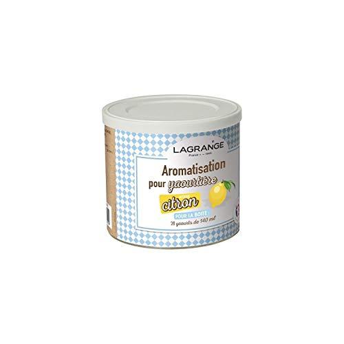Lagrange - 380360 - Pot de 425g arome citron pour yaourtiŠre