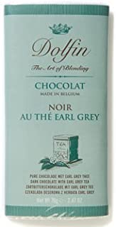 Dolfin Dark Chocolate Bar with Earl Grey Tea-70g