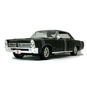 Maisto 1965 Pontiac GTO Black Custom 1//18 Diecast Car Model 31065bk