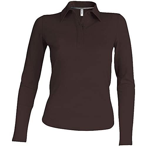 Kariban Polo Femme Manches Longues 100% Coton