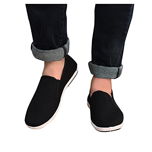 Women'S Slip On Walking Shoes Women'S Sport Running Shoes Couple Shoes Breathable One-Step Casual Shoes