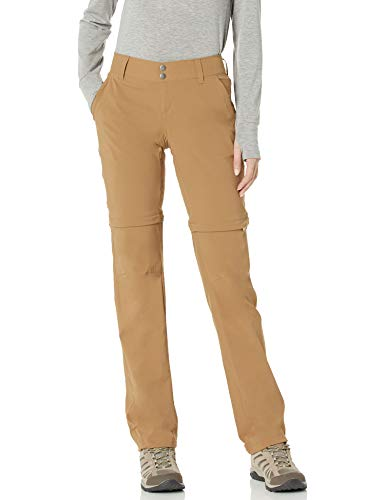 Columbia Saturday Trail II Pantalon Convertible pour Femme, Femme, 1579851, Delta, 42