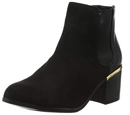 New Look Wide Foot Dreamy, Botines Mujer, Negro (Black 1), 38 EU