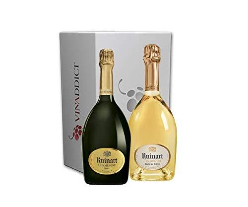 Coffret Vinaddict Champagnes Ruinart -R de Ruinart & Ruinart Blanc de Blancs