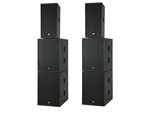 Audio X-Club Activer Mate III 2.1 kanaals 1200 W zwart set luidspreker - tafelset luidspreker (2,1 kanalen, 1200 W, universeel, versterker, geïntegreerd, 100 dB)