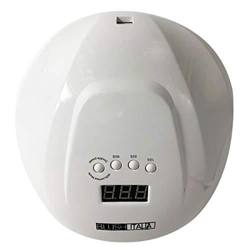 BLUSH Italia - Lámpara Nails UV LED 48/54 W Secador Gel Color Constrador Temporizador preestablecido (10s, 30s, 60s)