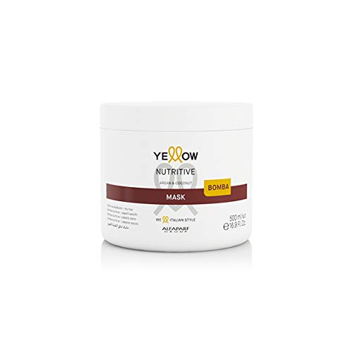 Mascarilla nutritiva para cabello seco – Nutritiva Bomba – Yellow Alfaparf Group – 500 ml