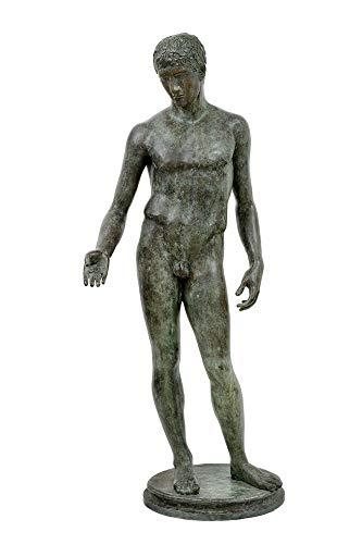 Salvadori Arte Bronze-Skulptur, Idol, Idolino von Pesaro, griechisch-römisch, Wachsausschmelzung