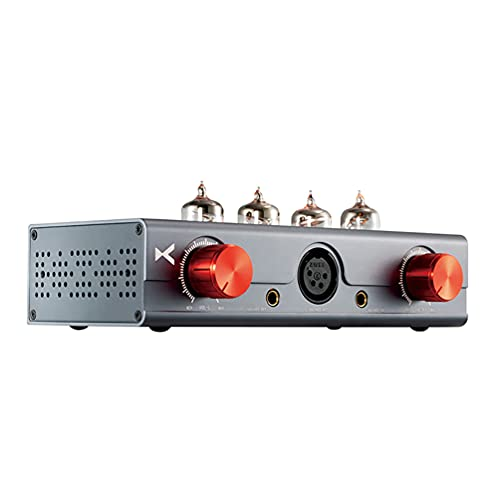 xDuoo MT-604 Amplificatore per cuffie valvolare bilanciato 6J1 * 4 Preamplificatore HiFi XLR   4.4MM Ingresso   uscita bilanciato Classe A Mini amplificatore ibrido da tavolo Amplificatore valvolare
