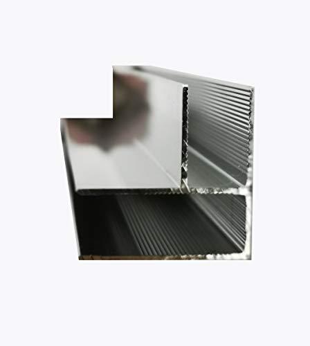 Glaszentrum Hagen - Eck Aluminium Profil für Duschwände - Duschkabinen - Heimwerken (TYP 1001.Eck)
