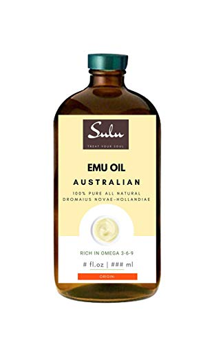 8 fl.oz- 100% Pure All Natural Triple Refined Australian Emu Oil