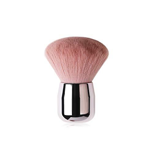 Kriosey Kabuki Puder-Pinsel Gesichtspinsel Großer Veganer Make-Up-Brush im luxuriösen Design...