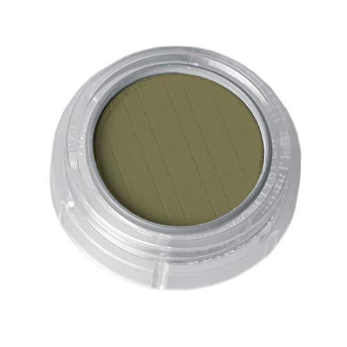 Grimas Lidschatten/Rouge, Döschen 2g, Farbe 488 Olivgrün, Profi-Make-Up, hochpigmentiert