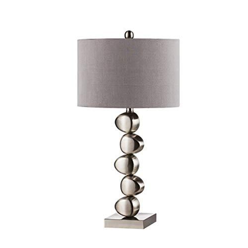 Lampe de bureau Moderne Européenne Lampes De Table Salon Décor Chambre À Coucher Lumière De Coude Tissu Ombre En Métal Creative Décoration
