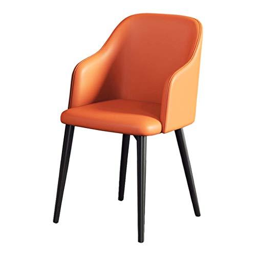 ZSM Cocina Sillas Moderno Salón Dormitorio sillas de salón Comedor con apoyabrazos (imitación de
