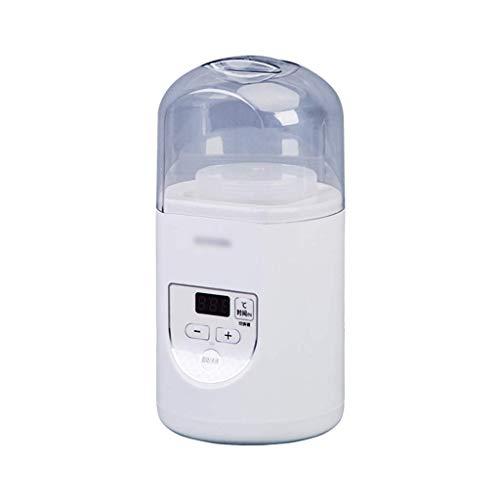 SCJ Haushalts-Joghurt-Maschine, automatische Mini-Multifunktions-Reisweinmaschine, kleine Gärmaschine für Schlafsäle mit kontrolliertem Wasserbecher, Messlöffel, Behälter