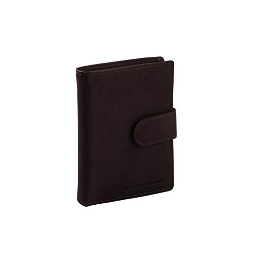 The Chesterfield Brand Leder Portemonnaie Braun Ruby RFID Safe
