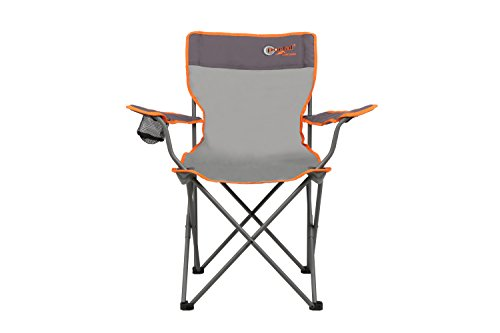 Portal Oscar Chair campingstoel tot 100 kg klapstoel festivalstoel + bekerhouder & armleuningen