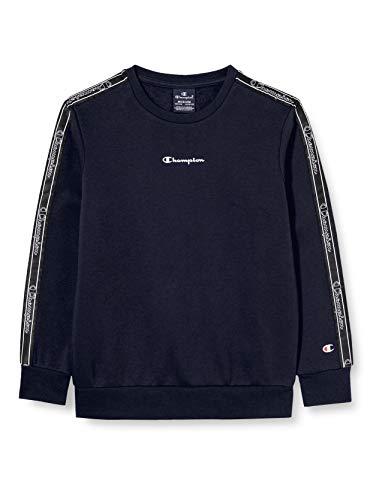 Champion Mädchen Boys' Seasonal Tape Sweatshirt, Blue (Bs501), XS