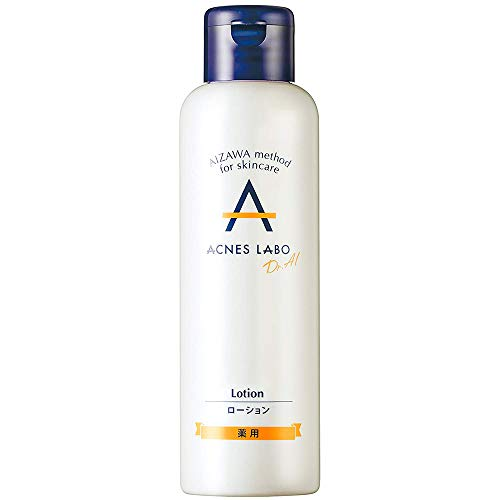 Acnes Labo Medicated Acne Skin Lotion For Puberty Acne - 150ml (Green Tea Set)