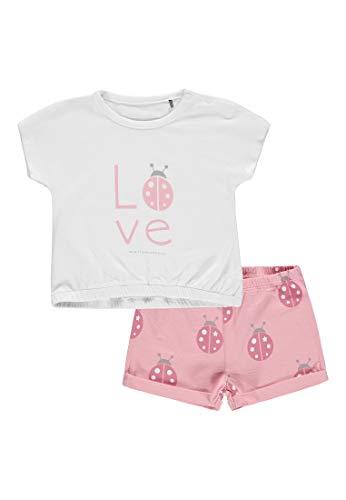 bellybutton Schlafanzug kurz Mädchen, Geranium 2390, 116