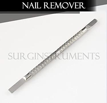 surgicalonline 3 Pieces Nail Remover - Double Ended Stainless Steel Manicure Salon AE-1316