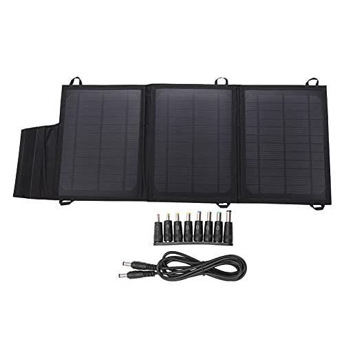 Bolsa de Cargador Solar de Doble Salida USB portátil de Panel Solar Plegable de 21W para baterías de automóvil de computadoras portátiles