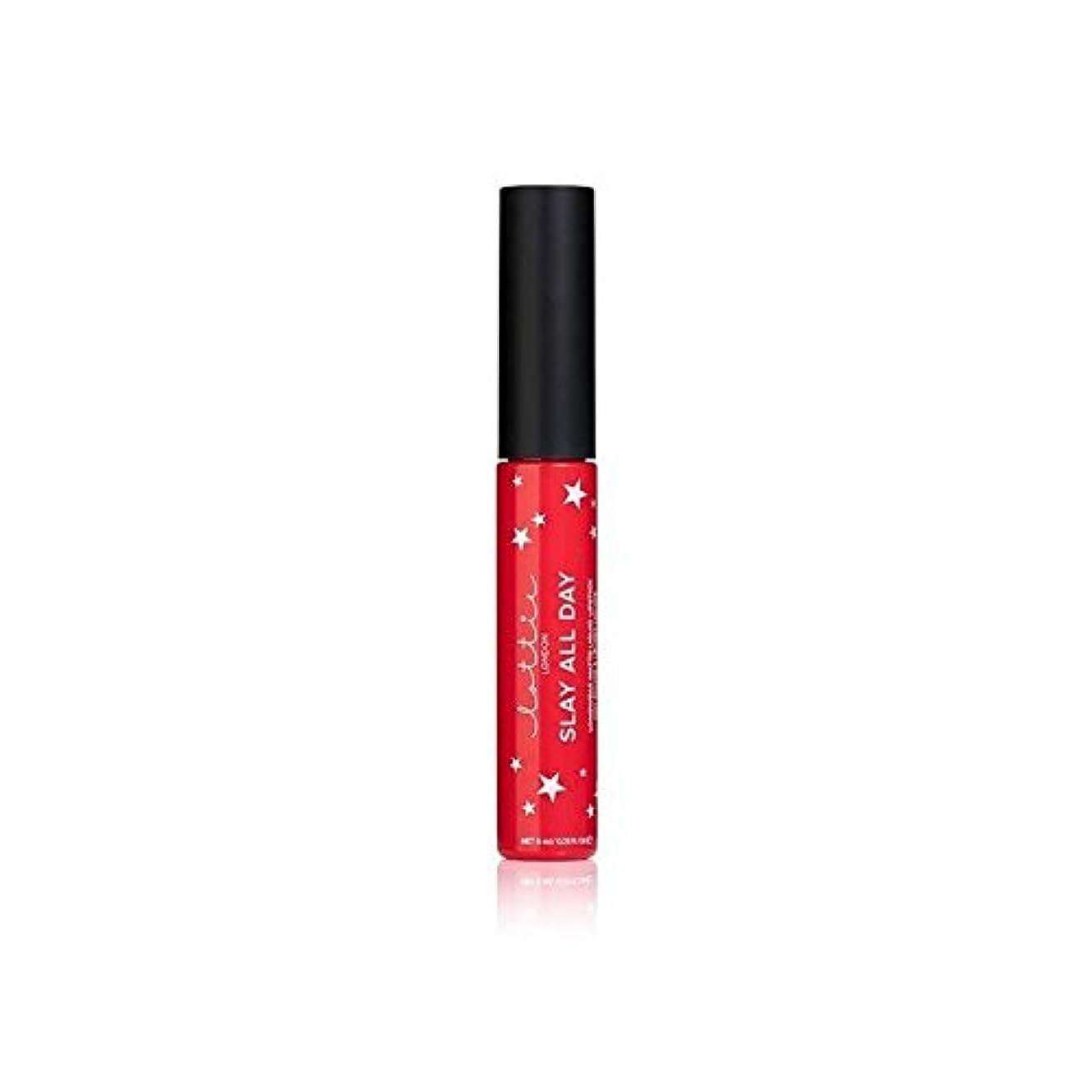 先に組立欠員Lottie London Matte Liquid Lipstick - Slay It (Pack of 6) - ロンドンマット液状口紅を - それを殺します x6 [並行輸入品]