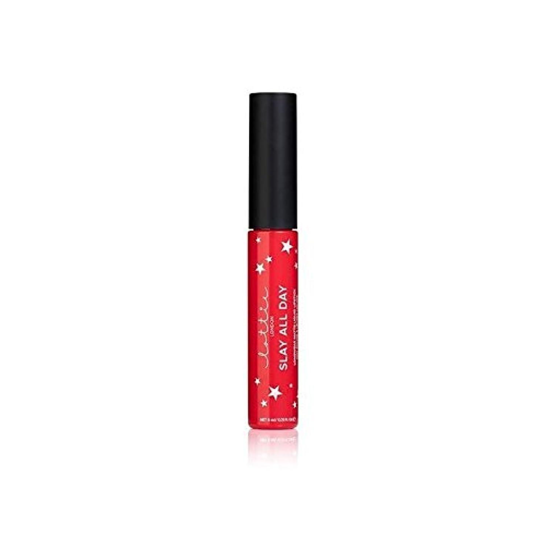凝視めまい荷物Lottie London Matte Liquid Lipstick - Slay It - ロンドンマット液状口紅を - それを殺します [並行輸入品]