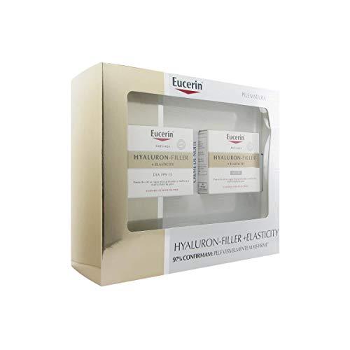 Eucerin Pack Hyaluron Filler + Elasticity Tagescreme Spf15 50ml + Hyaluron Filler Und Elasticity Nachtcreme 50ml