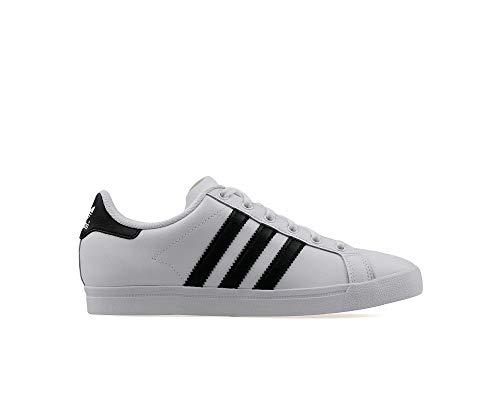 adidas Coast Star J, Zapatillas de Gimnasia Unisex Niños, Blanco (FTWR White/Core Black/FTWR White FTWR White/Core Black/FTWR White), 39 1/3 EU