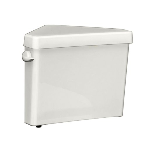 American Standard 4338001.020 Cadet 3 Triangle 1.6 GPF Toilet Tank Only, White