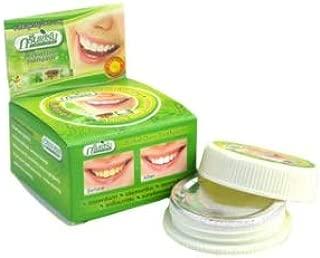 Thailand original herbal clove toothpaste anti-bacteria,whitening remove smoke tea yellow stains plaque halitosis Dental product