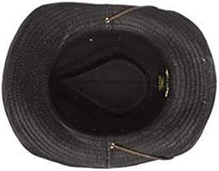 crushable safari hat with cord