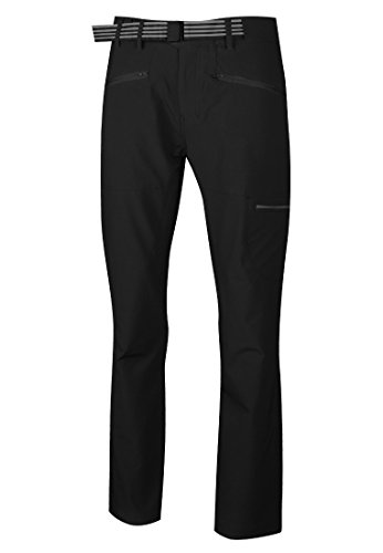 High Colorado Monte-M Pantalon de Trekking Homme, Black Modèle EU 50 (Regular) 2020
