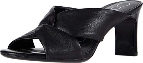 Calvin Klein Women's Omarion Mule, Black, 5