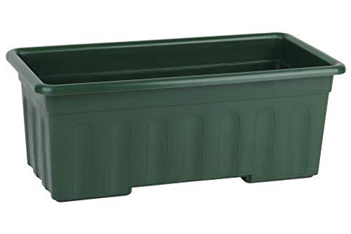 Jardinera Verde Modelo Azahar | Dimensiones 40x20x15.5 cm | Venta unitaria