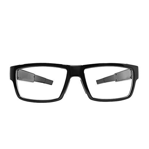 Gafas portátiles con cámara oculta 1080p HD Mini gafas con cámara de espionaje gafas de vídeo con 16GB de almacenamiento