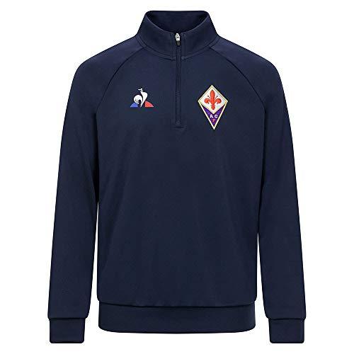 Le Coq Sportif Damen Fiorentina Training Sweat Enfant B Sweatshirt, Blau (Dress Blues), 12A