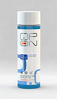 QP-ON 2.0 Highly Water Repellent Ceramic Car High End Coating   Waterproof for All Vehicle Parts Metal Aluminum Glass Plastic Stone Sealant 500ml (500ml / 16.9oz)
