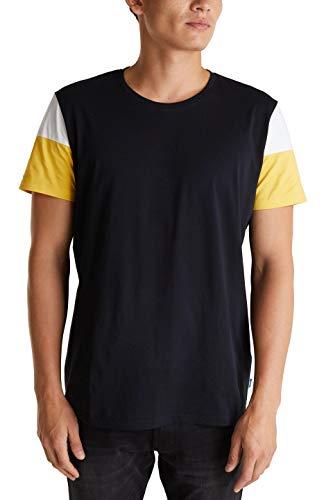 edc by ESPRIT Herren 040CC2K319 T-Shirt, 001/BLACK, L