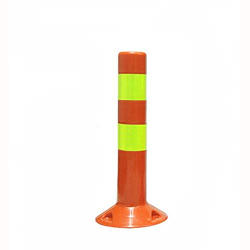 Colonne d'avertissement en plastique, colonne réfléchissante de communauté d'école de parking de pile d'isolation de route extérieure (taille : 50 * 7.5M)