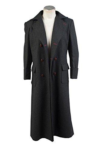 Sherlock Holmes Umhang Mantel Cosplay Kostüm Wolle Version Herren L