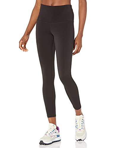 Amazon Essentials Women's Performance High-Rise 7/8 Length Active Legging, Black, Large