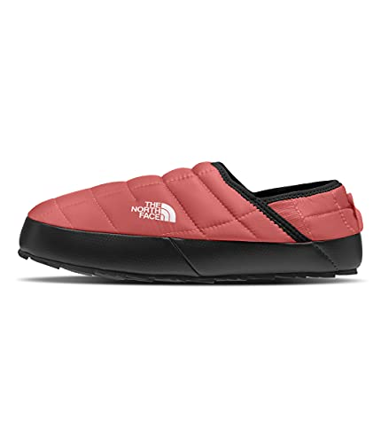 The North Face Women's ThermoBall Traction Mule V, Faded Rose/TNF Black, 6